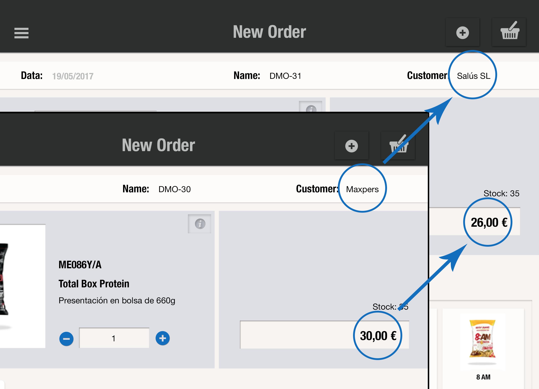 Ten las tarifas que quieras para tus clientes adaptándolas a sus características y necesidades para asegurarte la venta de tus productos con uSell CRM