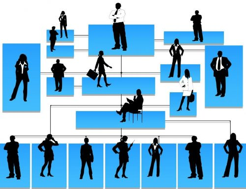 The organizational structure of an enterprise